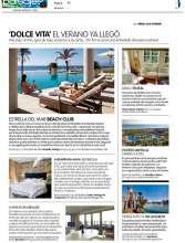 Prensa | Beach Club Estrella del Mar