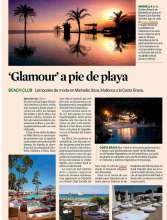 'Glamour' a pie de playa